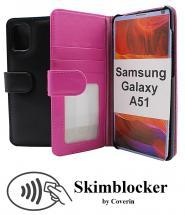 Skimblocker Lommebok-etui Samsung Galaxy A51 (A515F/DS)