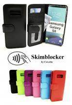 Skimblocker Lommebok-etui Samsung Galaxy S8 (G950F)