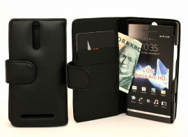 Lommebok-etui Sony Xperia S (LT26i)