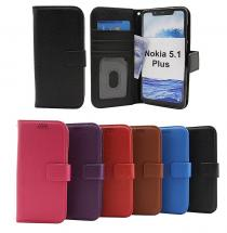 Standcase Wallet Nokia 5.1 Plus