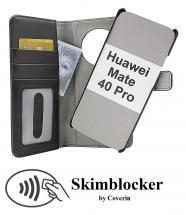 Skimblocker Magnet Wallet Huawei Mate 40 Pro