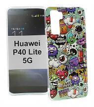TPU Designdeksel Huawei P40 Lite 5G