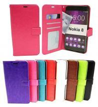 Crazy Horse Wallet Nokia 8