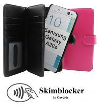 Skimblocker XL Magnet Wallet Samsung Galaxy A20s (A207F/DS)