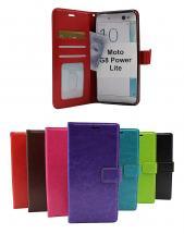 Crazy Horse Wallet Motorola Moto G8 Power Lite