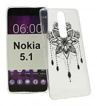 TPU Designdeksel Nokia 5.1