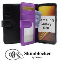 Skimblocker Lommebok-etui Samsung Galaxy S20 (G980F)