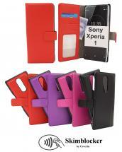 Skimblocker Magnet Wallet Sony Xperia 1 (J9110)