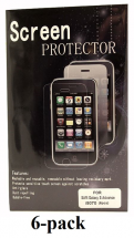6-pakning Skjermbeskyttelse Samsung Galaxy S Advance (i9070)