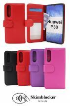 Skimblocker Lommebok-etui Huawei P30