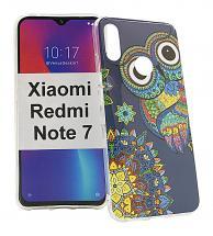 TPU Designdeksel Xiaomi Redmi Note 7