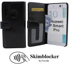 Skimblocker Lommebok-etui Huawei P Smart Pro