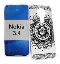 TPU Designdeksel Nokia 3.4