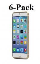 6-pakning Skjermbeskyttelse iPhone 6 Plus / 6S Plus