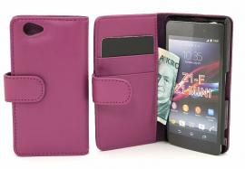 Lommebok-etui Sony Xperia Z1 Compact (D5503)