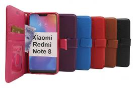 New Standcase Wallet Xiaomi Redmi Note 8