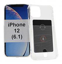 TPU Deksel med kortlomme iPhone 12 (6.1)