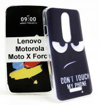 TPU Designdeksel Lenovo Moto X Force