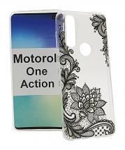 TPU Designdeksel Motorola One Action