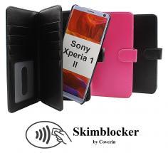 Skimblocker XL Magnet Wallet Sony Xperia 1 II (XQ-AT51)