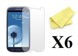 6-pakning Skjermbeskyttelse Samsung Galaxy S3
