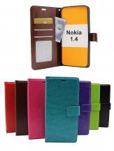 Crazy Horse Wallet Nokia 1.4
