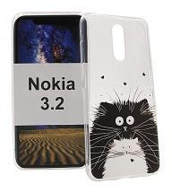TPU Designdeksel Nokia 3.2