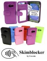 Skimblocker Lommebok-etui Samsung Galaxy A3 2017 (A320F)
