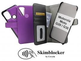 Skimblocker Magnet Wallet Motorola Moto G20 / Moto G30