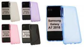 S-Line Deksel Samsung Galaxy A7 2018 (A750FN/DS)