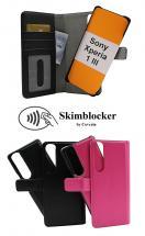 Skimblocker Magnet Wallet Sony Xperia 1 III (XQ-BC52)