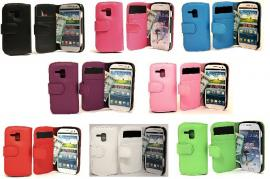 Lommebok-etui Samsung Galaxy Trend (S7560 & s7580)