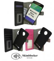 Skimblocker Magnet Wallet Motorola Moto Z3 Play