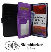 Skimblocker Lommebok-etui Samsung Galaxy S20 Ultra (G988B)