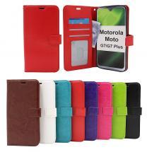 Crazy Horse Wallet Motorola Moto G7 / Moto G7 Plus