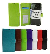 Crazy Horse Wallet Motorola One Vision