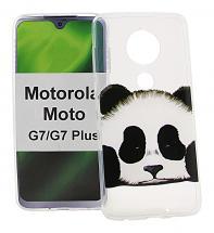 TPU Designdeksel Motorola Moto G7 / Moto G7 Plus
