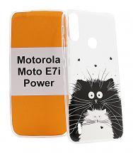 TPU Designdeksel Motorola Moto E7i Power