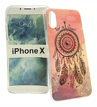 TPU Designdeksel iPhone X