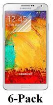 6-pakning Skjermbeskyttelse Samsung Galaxy Note 4 (N910F)