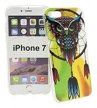 TPU Designdeksel iPhone 7