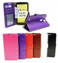 Crazy Horse Wallet LG K7 (X210)
