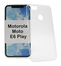 Ultra Thin TPU Deksel Motorola Moto E6 Play