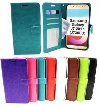 Crazy Horse Wallet Samsung Galaxy J7 2017 (J730FD)