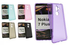 TPU-deksel for Nokia 7 Plus
