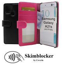 Skimblocker Lommebok-etui Samsung Galaxy A21s (A217F/DS)