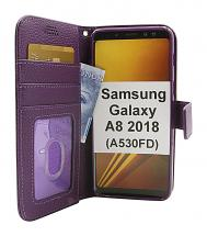 New Standcase Wallet Samsung Galaxy A8 2018 (A530FD)