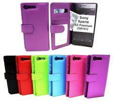 Lommebok-etui Sony Xperia XZ Premium (G8141)
