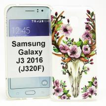 TPU Designdeksel Samsung Galaxy J3 2016 (J320F)