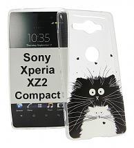 TPU Designdeksel Sony Xperia XZ2 Compact (H8324)